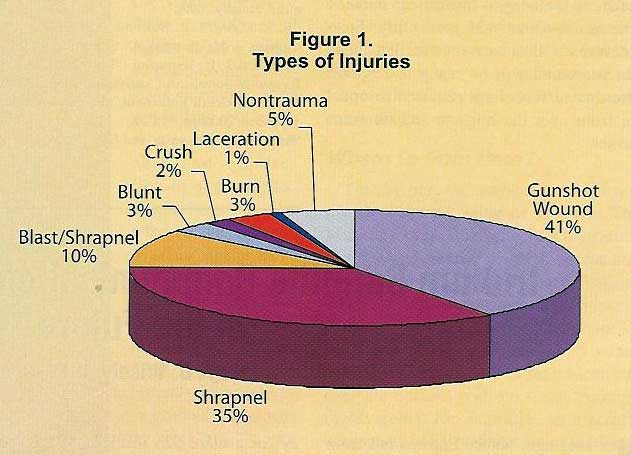 OIF Casualties by Type