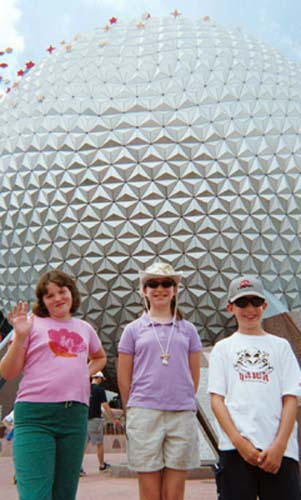 happy kids and a Big Shiny Ball